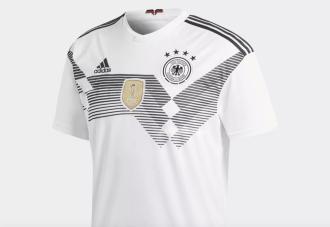 Новая форма сборной Германии сезона 2018