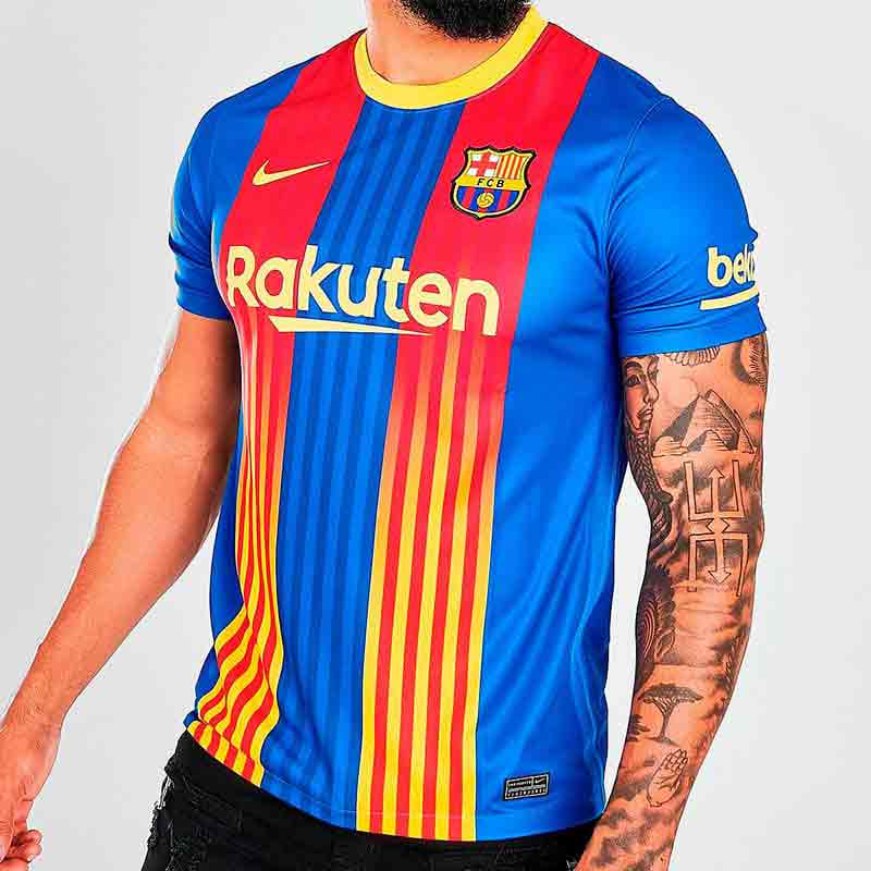 Новая форма Барселоны 4-ый вариант 2020/21